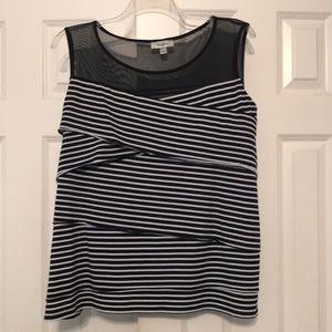 Dress Barn sleeveless top women's size 3X